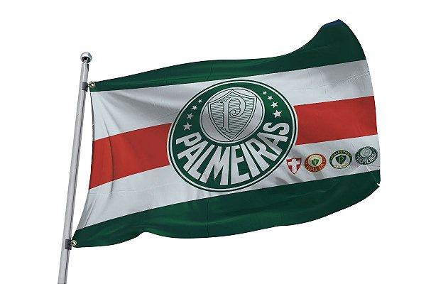 Bandeira do Palmeiras - Tamanhos 1m/ 1,40m / 2m