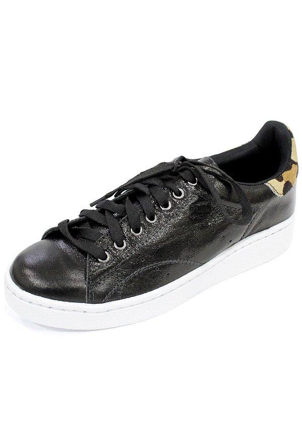 Tênis Couro Dali Shoes Alissa com cadarço