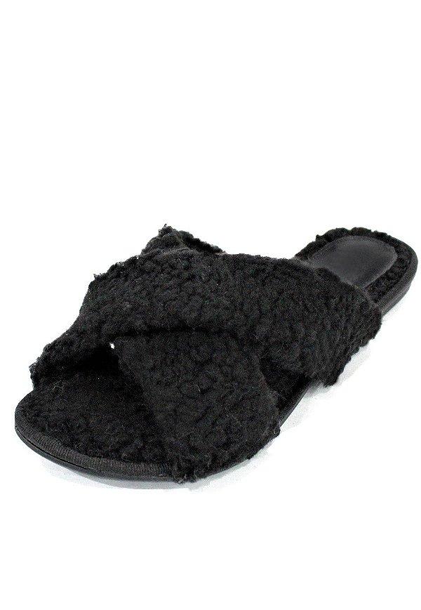 Homewear Slide Dali Shoes Paty Pêlo Carneirinho