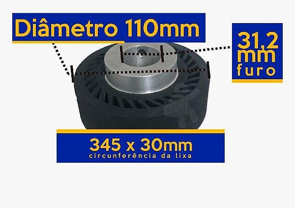 ROLETE EXPANSIVO 110 MM DE DIÂMETRO CIRCUNFERÊNCIA 345X30MM