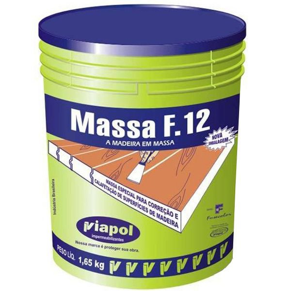 MASSA F12- NO DE PINUS 1,65KG - VIAPOL