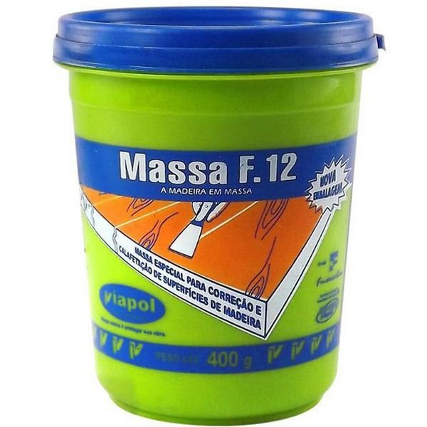 MASSA F12- SUCUPIRA 400G - VIAPOL