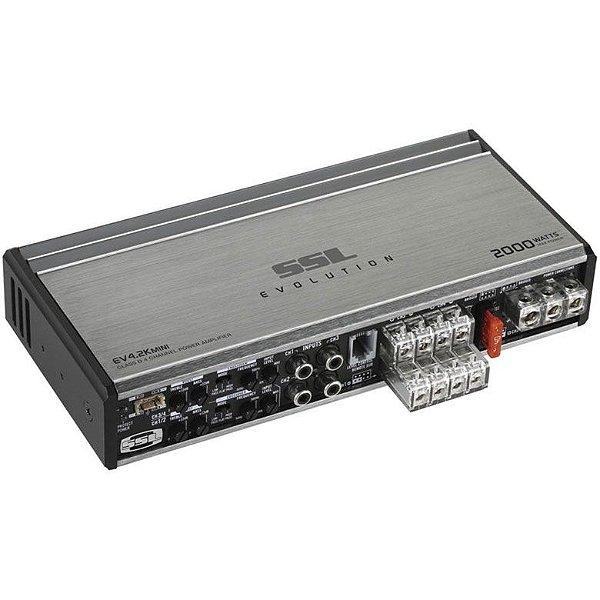 Amplificador Soundstorm SSL EV4.2K mini (4x 200W RMS)