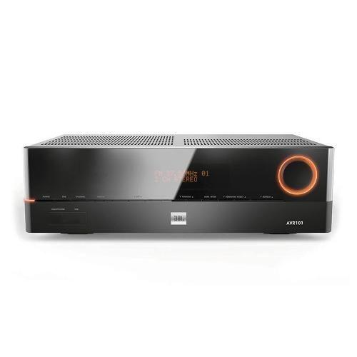 Receiver JBL AVR-101 saída HDMI e ready 3D e 4K - 220 V