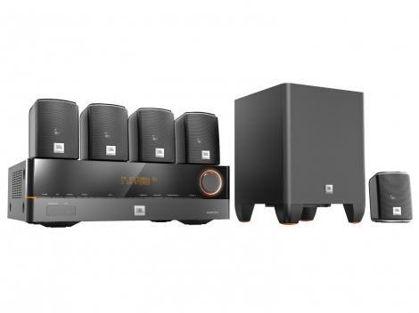 Home Theater JBL Cinema J5100 5.1 HDMI 4K e 3D - 220V