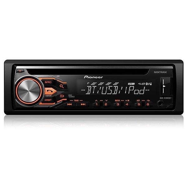 CD/MP3 Player Pioneer DEH-X4880BT c/ Bluetooth USB e Mixtrax