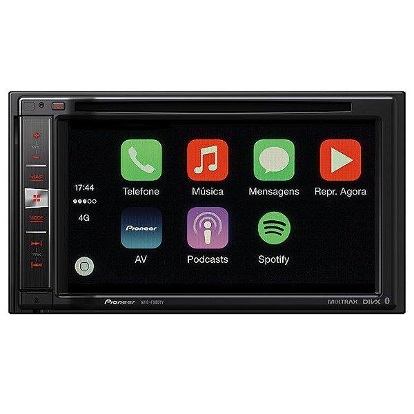 Central Multimídia Pioneer AVIC-F980TV com TV Digital, Bluetooth, GPS e Mixtrax