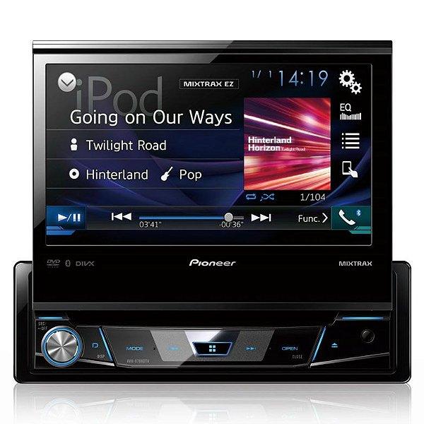 DVD Player Automotivo Pioneer AVH-X7880TV Tela Retrátil com Bluetooth e TV Digital