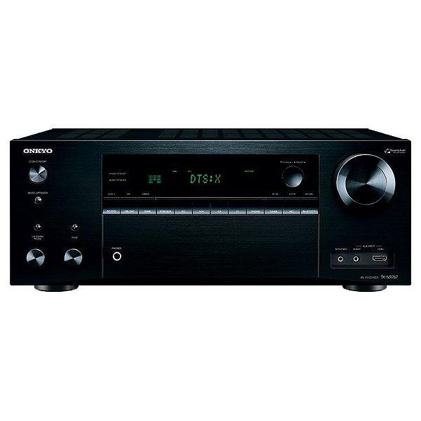 Receiver Onkyo TX-NR757 A/V Network 7.2 Canais Dolby ATMOS