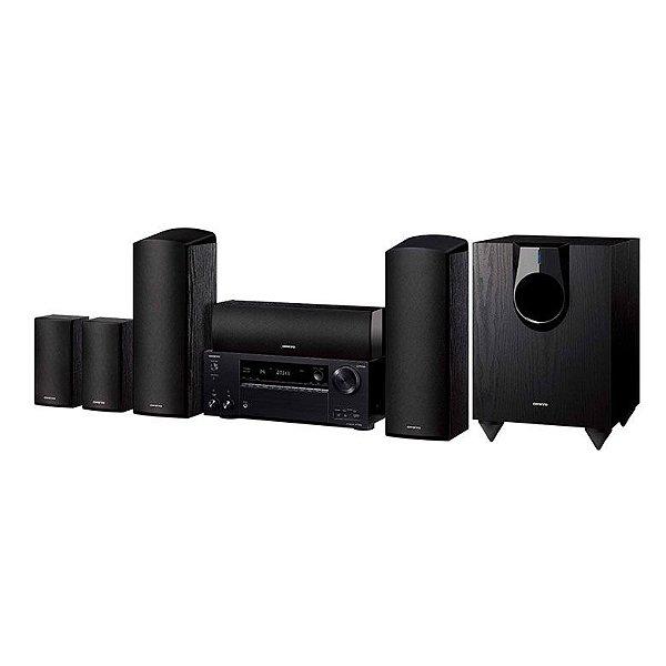 Home Theater Onkyo HT-S7800 - 5.1.2 Canais / Dolby ATMOS / Bluetooth e UltraHD 4K