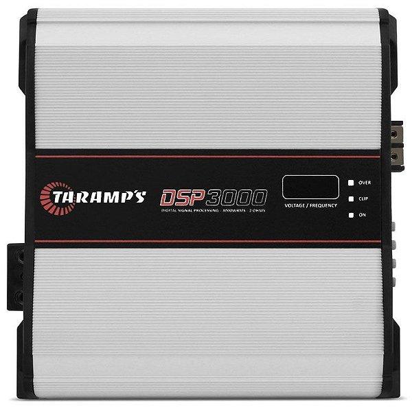 Amplificador Taramps DSP3000 (1x 3592W RMS) / 2 Ohms