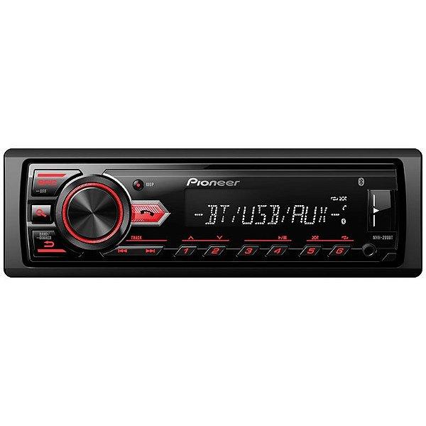 Media Receiver Pioneer MVH-298BT - USB / Aux / Bluetooth