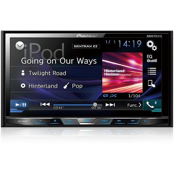 DVD Player Pioneer AVHX5880TV 7 Polegadas - Tv Digital / Bluetooth / USB / AUX e MIXTRAX