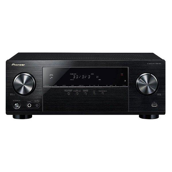 Receiver Pioneer VSX531 - 5.1 Canais / 4K Ultra HD / Bluetooth