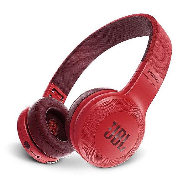 Fone de Ouvido JBL E45BT RED On-Ear Bluetooth - Vermelho