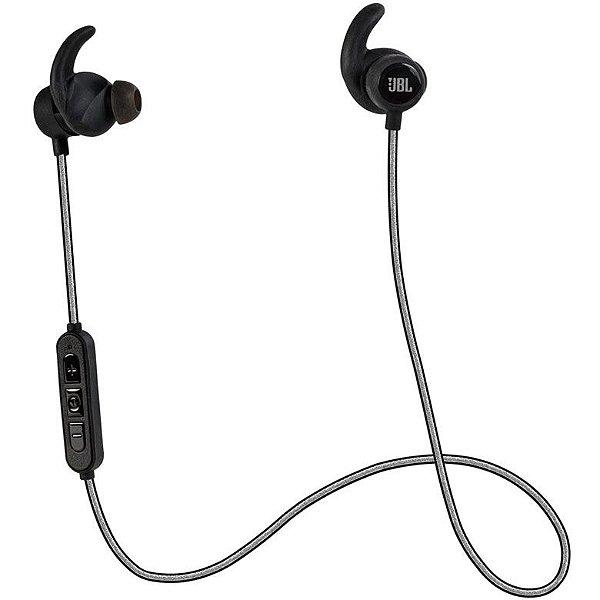 Fone de ouvido JBL Bluetooth Reflect Mini BT - Preto