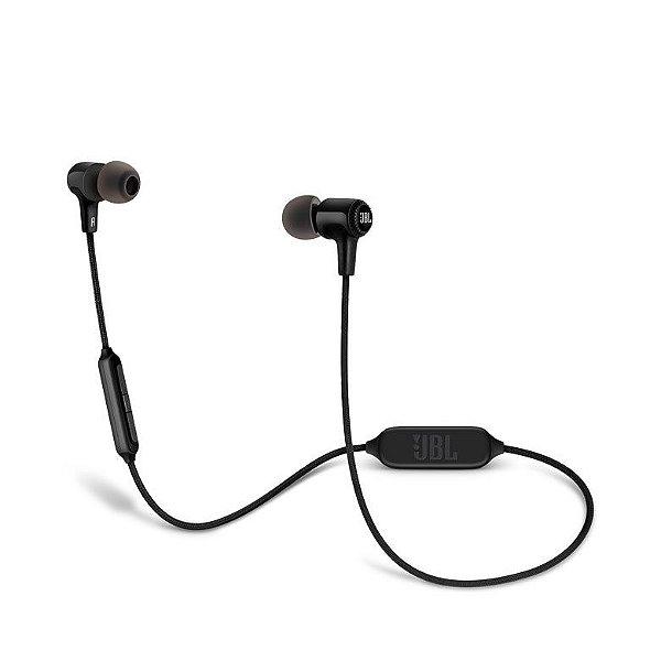 Fone de Ouvido JBL E25BT com Kit Comunicação e Bluetooth - Preto