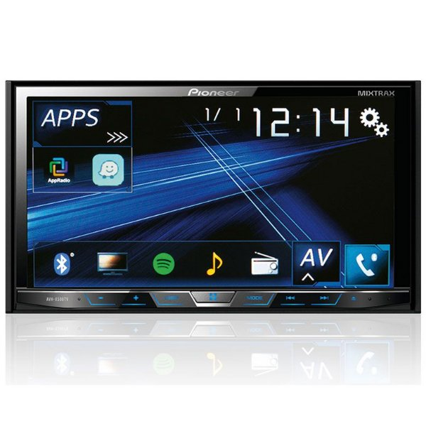 DVD Player Pioneer AVH-X598TV 7 Polegadas - Tv Digital / Bluetooth / USB
