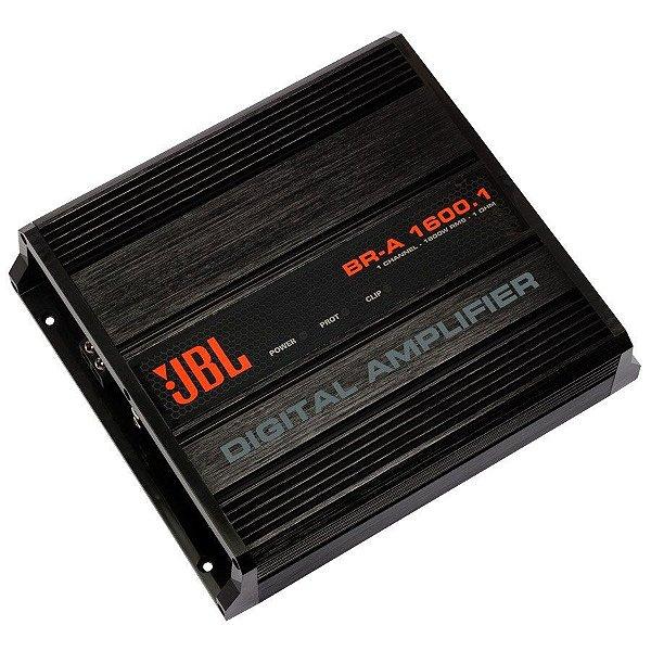 Amplificador JBL BR-A 1600.1  (1x 1600W RMS) - 1 Ohm