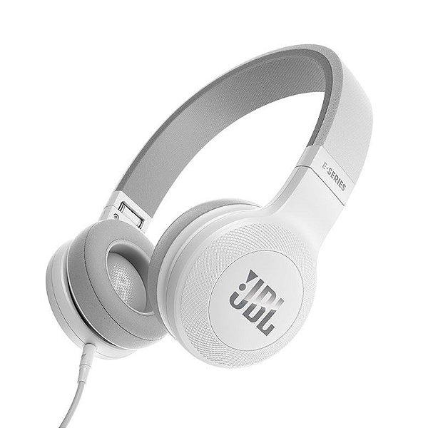 Fone de Ouvido JBL E35 com microfone - Branco