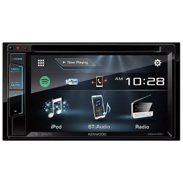 DVD Player Kenwood DDX-417BT 6.2 Pols. - 2 DIN / Bluetooth / USB / AUX