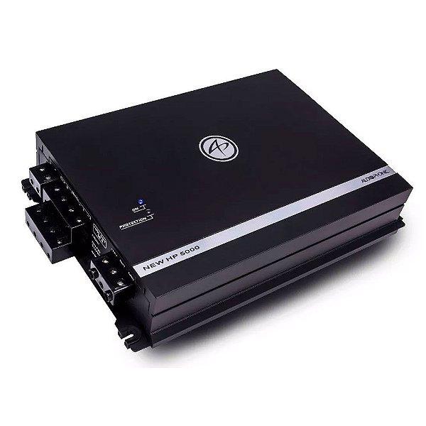 Amplificador Audiophonic NEW HP 5000 (4x 105W  + 1x 530W RMS)