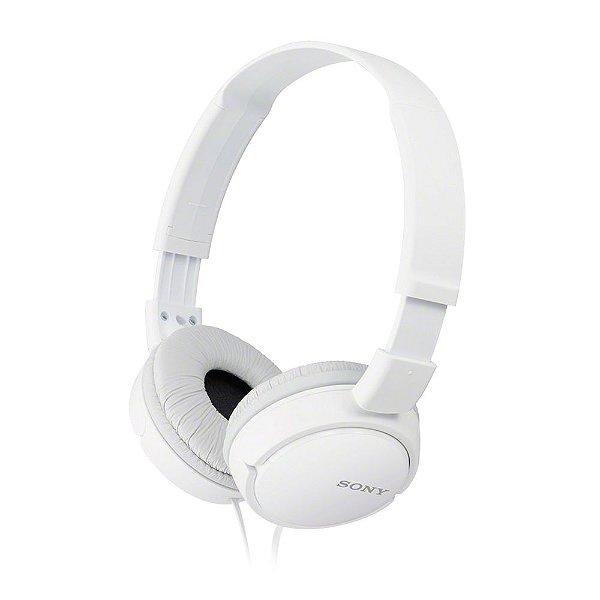 Fone de Ouvido Sony MDR-ZX110 Headphone - Branco