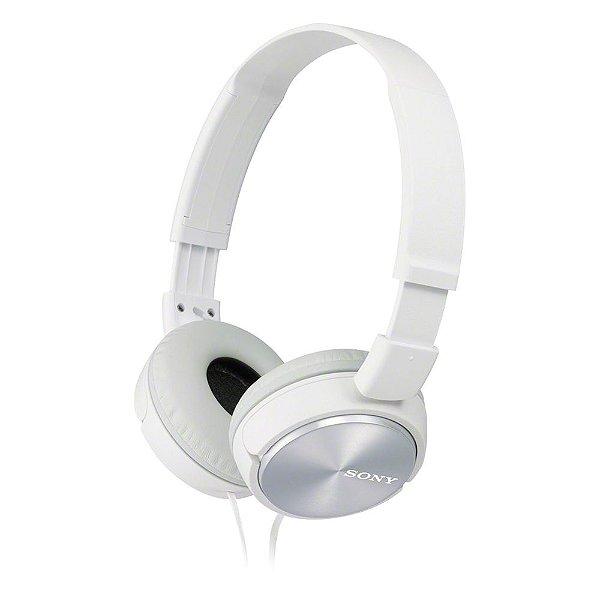 Fone de Ouvido Sony MDR-ZX310AP Headphone com Microfone - Branco