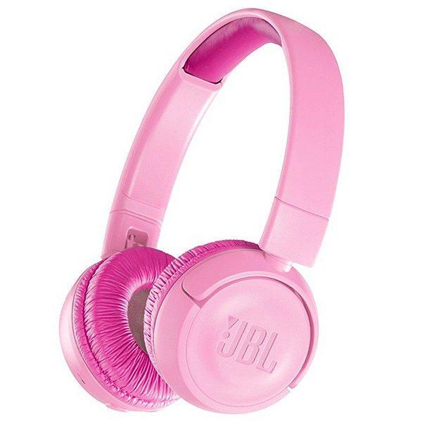 Fone de Ouvido JBL JR 300 BT Bluetooth - Rosa