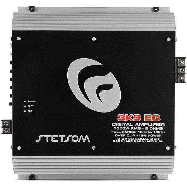Amplificador Stetsom 3K3 EQ (2 Ohms / 1x 4000W RMS)