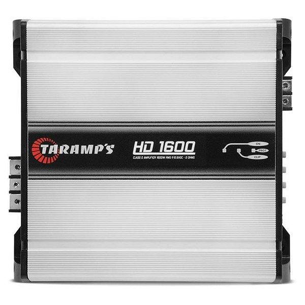 Amplificador Taramps HD-1600 (1x 1919W RMS) / 2 Ohms