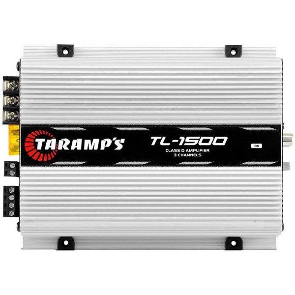 Amplificador Taramps TL-1500 (2x 95W + 1x 200W RMS)