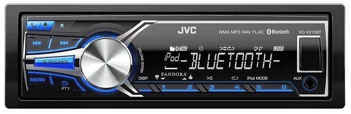 Media Receiver JVC KD-X310 com Vivaz Voz, Bluetooth e USB