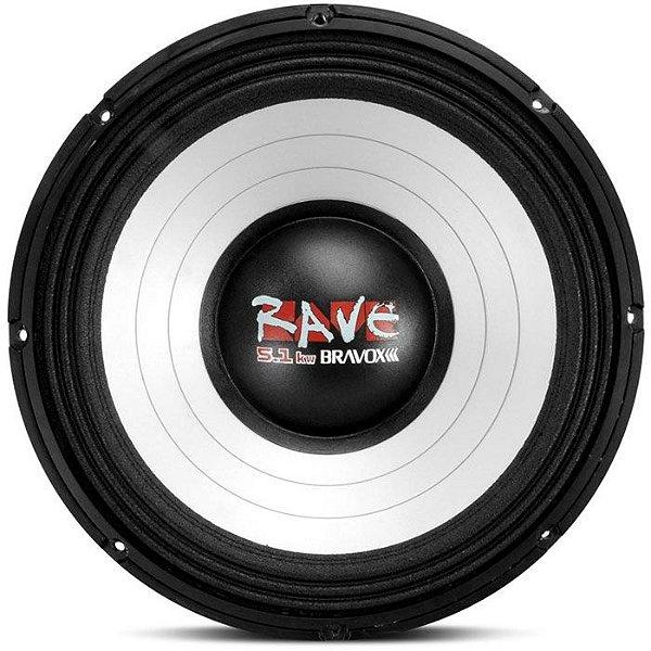 Woofer Bravox Rave 15-4 5.1KW (15 pols. / 2500W RMS)