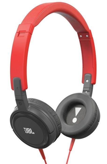 Fone de Ouvido JBL Headphone T300a (Vermelho c/ Preto)