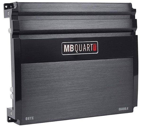 Amplificador MB Quart OA400.4 (4x 100W / 2x 200W RMS)