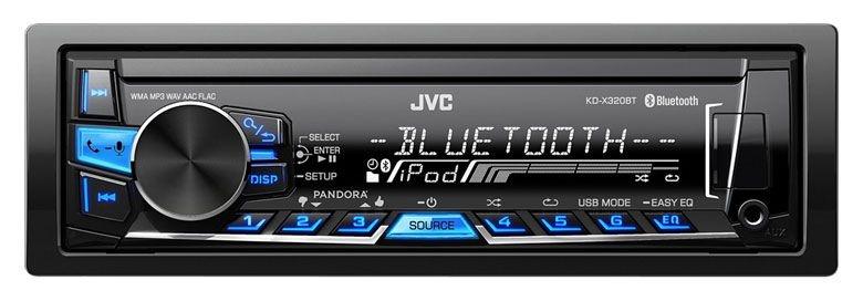 Media Receiver JVC KD-X320BT com Vivaz Voz, Bluetooth e USB