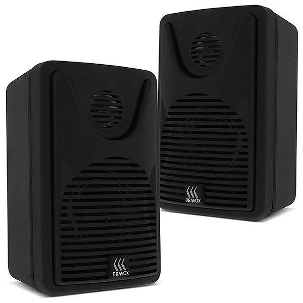 Caixa Acústica BSA Audio / Bravox FOCO 35 (preta)
