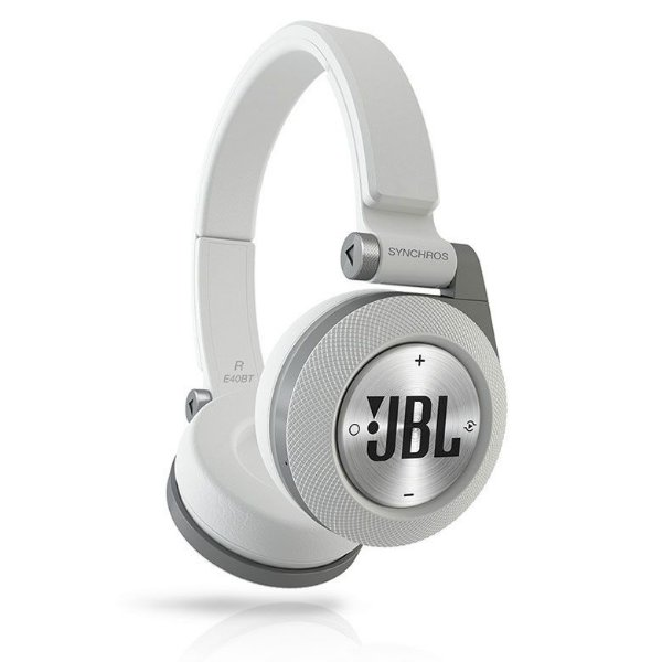 Fone de Ouvido JBL Synchros Bluetooth E40BT  (Branco)