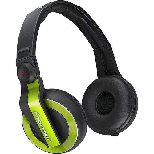 Fone de Ouvido Pioneer Profissional DJ HDJ-500 (Verde)