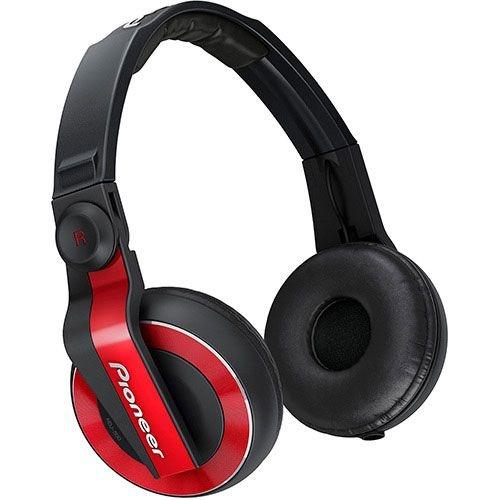 Fone de Ouvido Pioneer Profissional DJ HDJ-500 (Vermelho)
