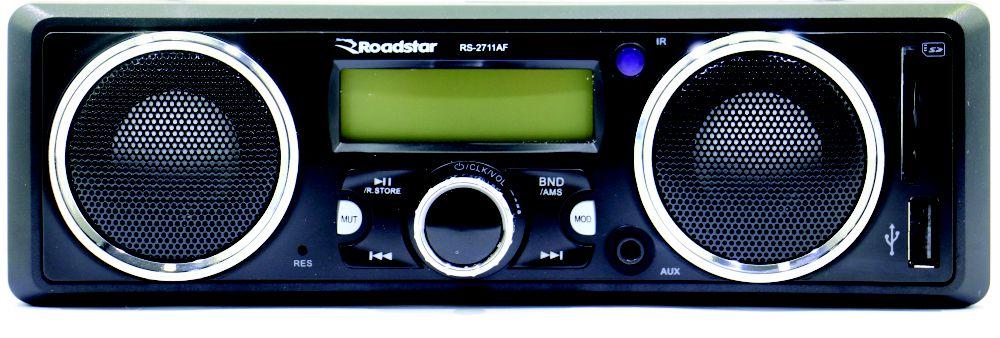 TOCA RÁDIO ROADSTAR RS-2711AF - SD - USB - MP3 - FM