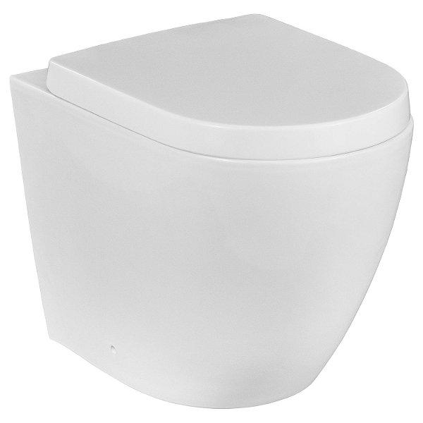 Bacia Vaso Sanitário Convencional Redondo Nias Branco