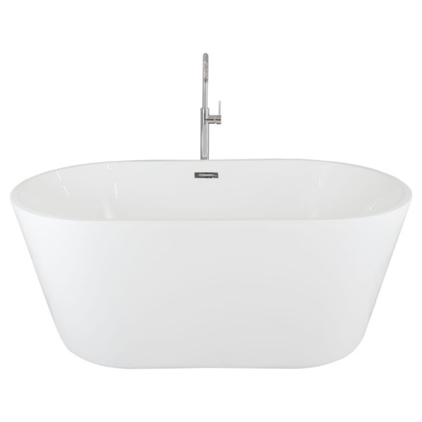 Banheira De Imersão Nias Branca Contemporânea 1500x800x600mm