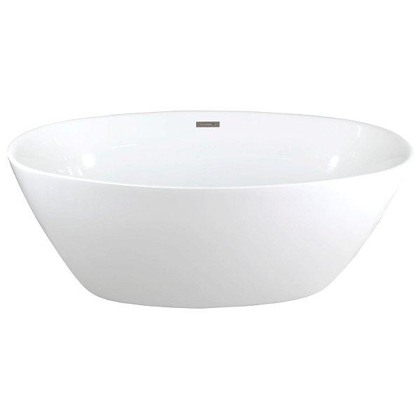 Banheira Imersão Fluir Branca Contemporânea 1600x800x600
