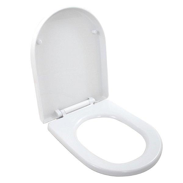 Assento Vaso Sanitário Convencional Nias Branco Soft Close