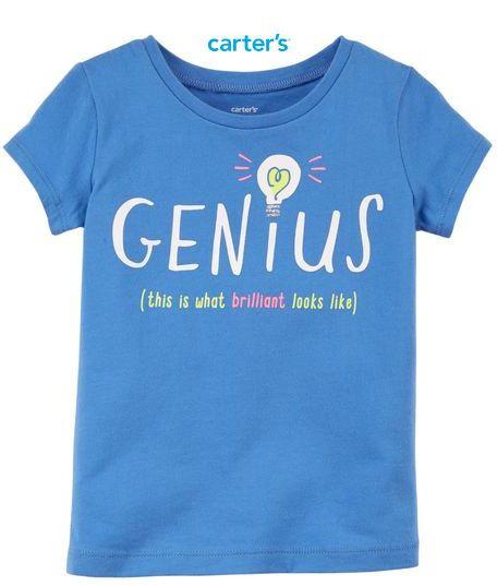 Camisa Carter's Manga Curta - Genius