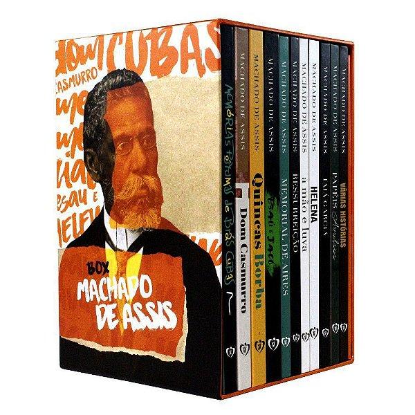Box 11 Livros   Capa Dura   Machado de Assis + Complemento de Leitura