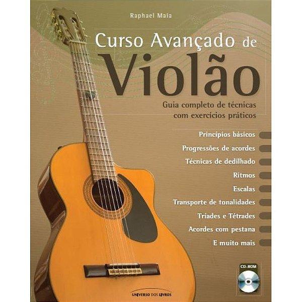 Curso Avançado De Violão   Raphael  Maia