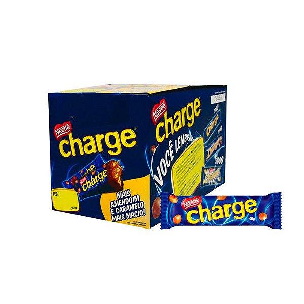 Bombom Charge com 30 unidades de 40g cada Nestle
